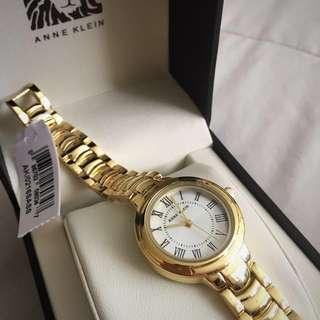 Brand New Anne Klein Gold Watch