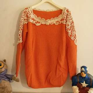 橘色毛衣 #交換最划算  #好物任你換