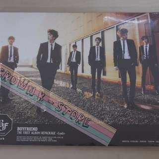 [CRAZY DEAL 70% OFF FROM ORIGINAL PRICE][READY STOCK]BOYFRIEND KOREA IYAH REPACKAGE ALBUM (NO POSTER) SEALED ! NEW!OFFICIAL ORIGINAL FROM KOREA (PRICE NOT INCLUDE POSTAGE)PLEASE READ DETAILS FOR MORE INFO