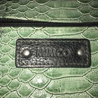 Mimco authentic snake skin wallet