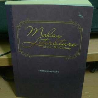 Malay Literature of the 19th Century by Siti Hawa Haji Salleh (Whatsapp for fast response: 0126541053 ☺)
