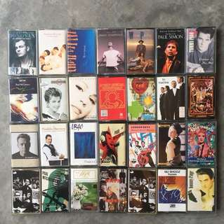 Rare Lot of 83 Cassette Tapes