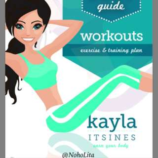 Kayla Itsines workout guide