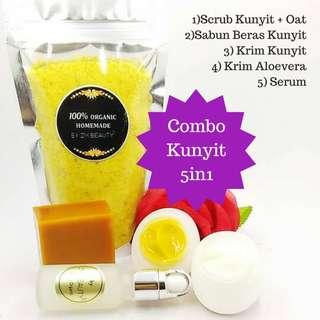 Combo Kunyit 5in1