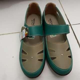 FREEONG Sepatu hijau tosca