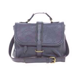 Deep Blue Cross Body Bag