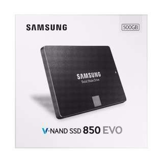 (In stock!) Samsung 850 EVO - 500GB - 2.5-Inch SATA III Internal SSD (local warranty)
