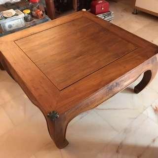 Teak Table For Sale