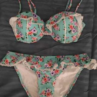Swimwear Sz 10 top, sz 8 bottom