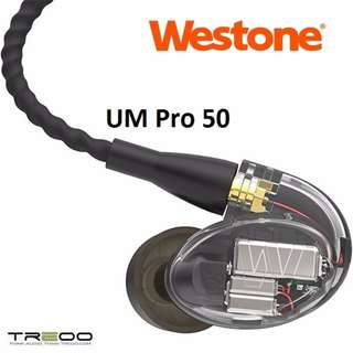Westone UM Pro 50 Musician Professional In-Ear Earphone