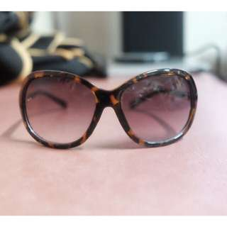Tortoise Shell Sunglasses Oversized Brown Tortoiseshell
