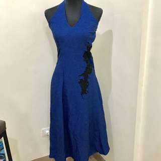 💙Dark Blue Gown