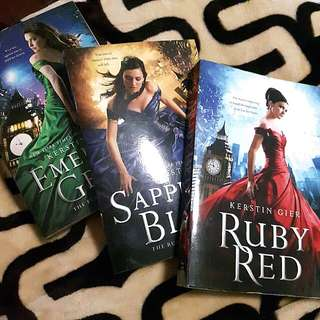 Ruby red trilogy