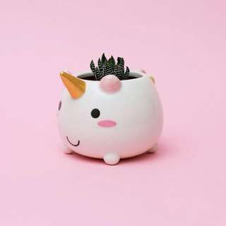 Smoko Elodie Unicorn Planter