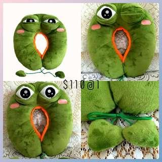 Sadfrog 頸枕