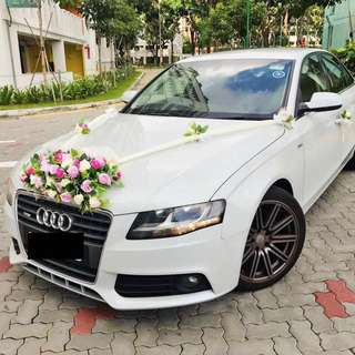Audi Bridal Wedding Car Rental