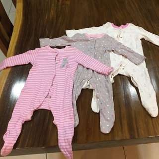 MC baby girl sleepsuit 3-6mth