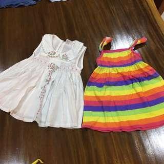 Baby girl dresses 6-9mth