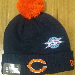 New era 冷帽 Bears Knit Hat