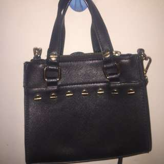 Something Borrowed Mini Classic Handle Work Tote With Round Stud