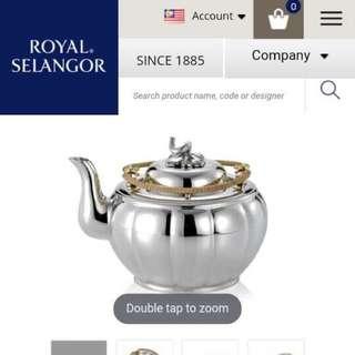 Royal Selangor Pewter Teapot