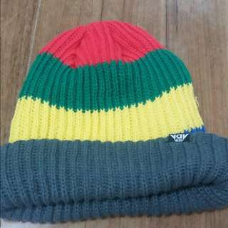 Knit Hat Rainbow 冷帽