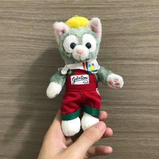 正版香港迪士尼畫家貓吊飾