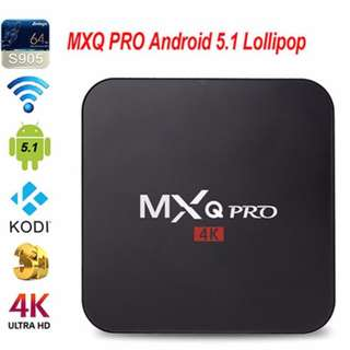 MXQ Pro Android TV Box Turn Any TV Into A Smart TV Instantly With WIFI Free Shipping in All NCR Area Cash On Delivery Nationwide