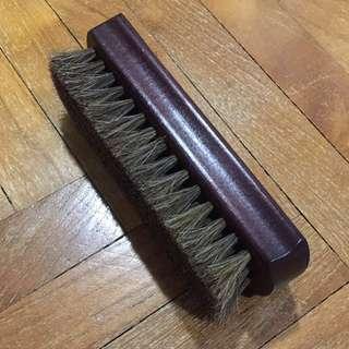 NEW: Premium Horsehair Shoe Brush