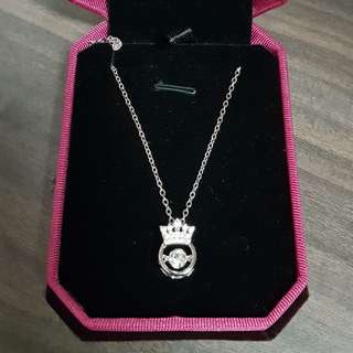 🚚 925 Dancing Stone Necklace Rhodium Plated C.z White does not come with this box