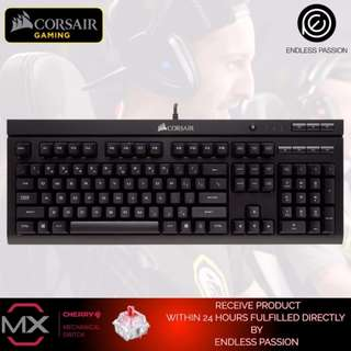Corsair Gaming K66 Mechanical Keyboard, Cherry MX Red Switch