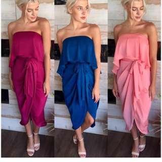 Strapless Dress, size 10, $50