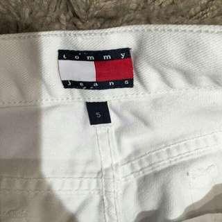 降了😭Tommy白色七分褲#長褲特賣