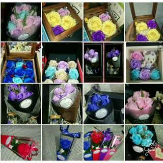 香皂玫瑰花禮盒🌷🎁