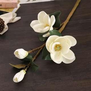 Magnolia CNY PU Flower