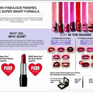 Mary Kay Make-up products