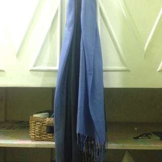 Two-toned scarf (sample only)