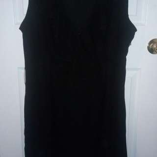 Black dress size 8-10
