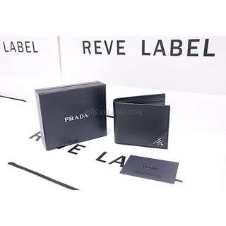 5d418d2bd7634b Prada Saffiano Metal Wallet Black 2MO513_QME_F0002