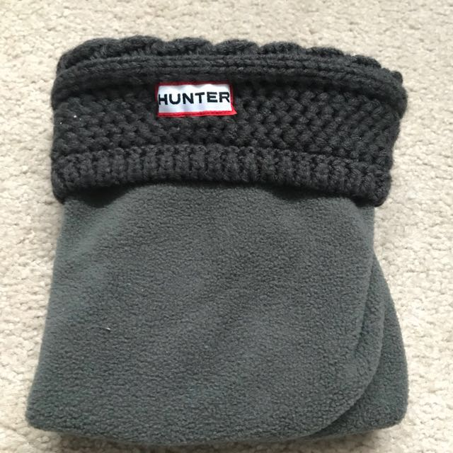 2 Pairs of Hunter Boot Socks as Seen in Photos