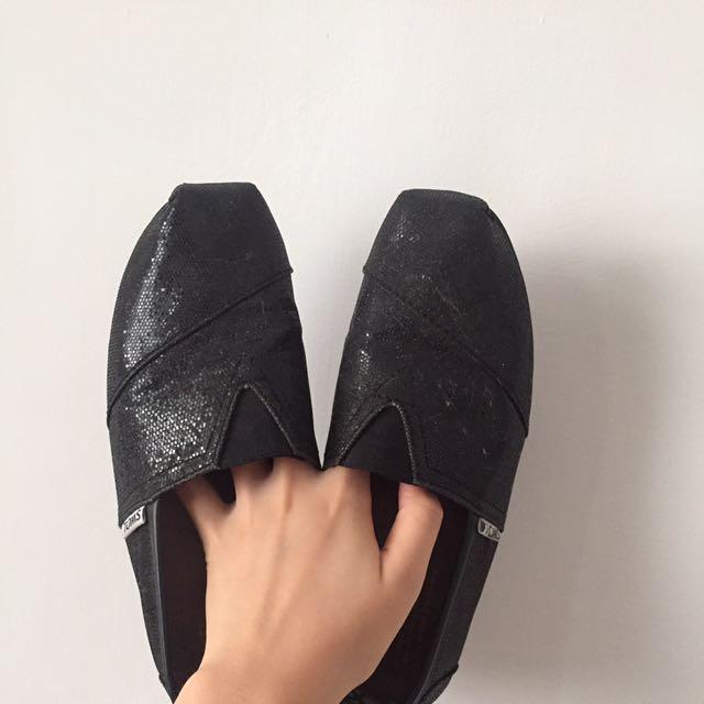 黑色娃娃鞋