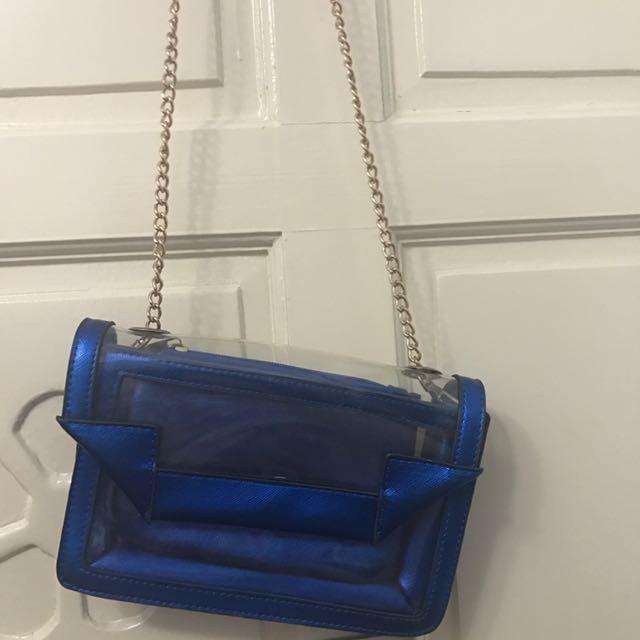 藍色透名果凍包