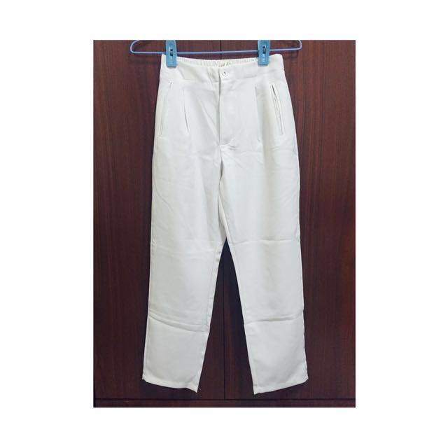 質感白褲 #長褲特賣
