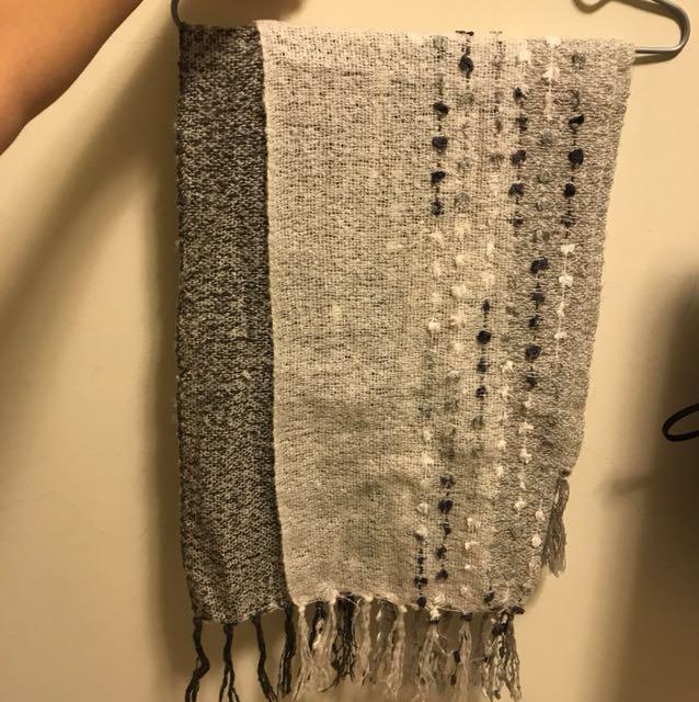針織 圍巾