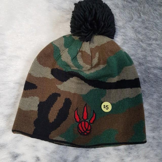 Adidas Raptors Camo Hat / Toque