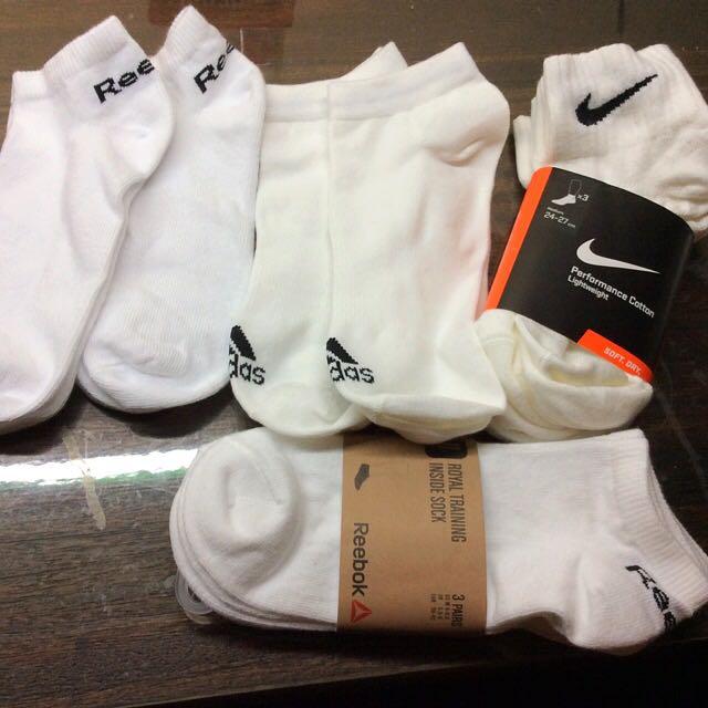 Adidas reebok nike 白襪 腳踝