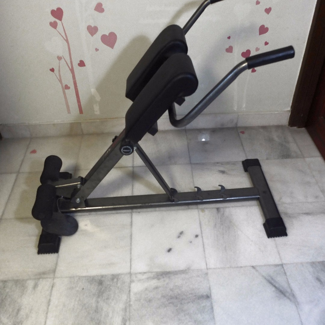 Amazing New Condition Adjustable Hyperextension Roman Chair Abdominal Back Extension Exercise Ab Bench Home Gym Fitness Exercise Men Fitness Equipment Creativecarmelina Interior Chair Design Creativecarmelinacom