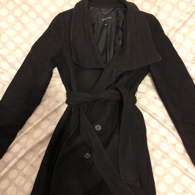 Aritzia babaton wool coat XS