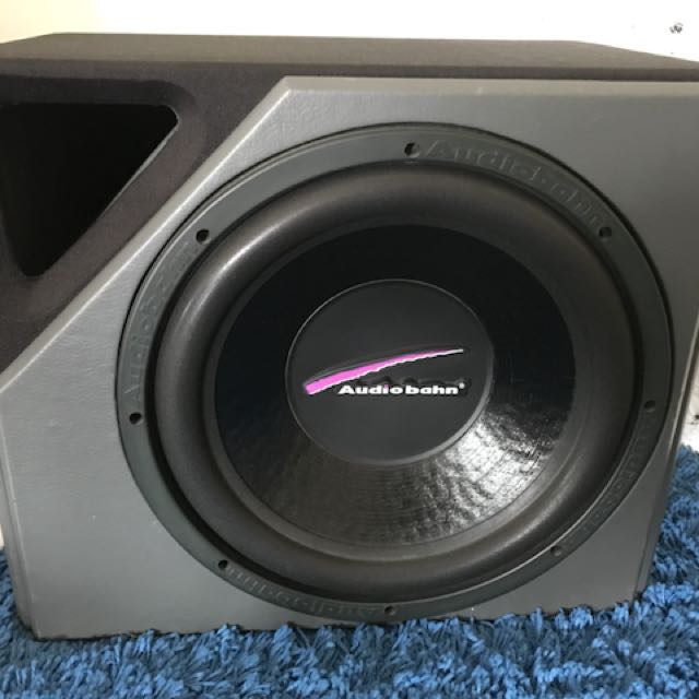 Audio bahn subwoofer, Car Accessories on Carousell