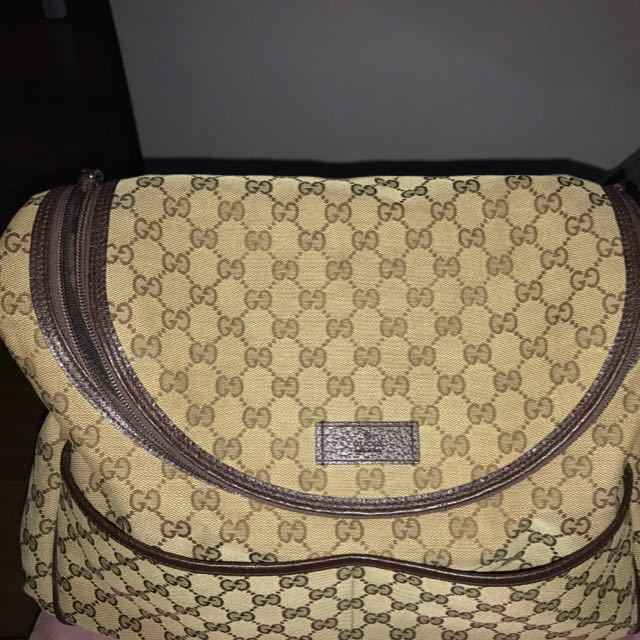 a00d539d8202 Authentic GG Supreme Diaper Bag by Gucci, Luxury, Bags & Wallets on ...